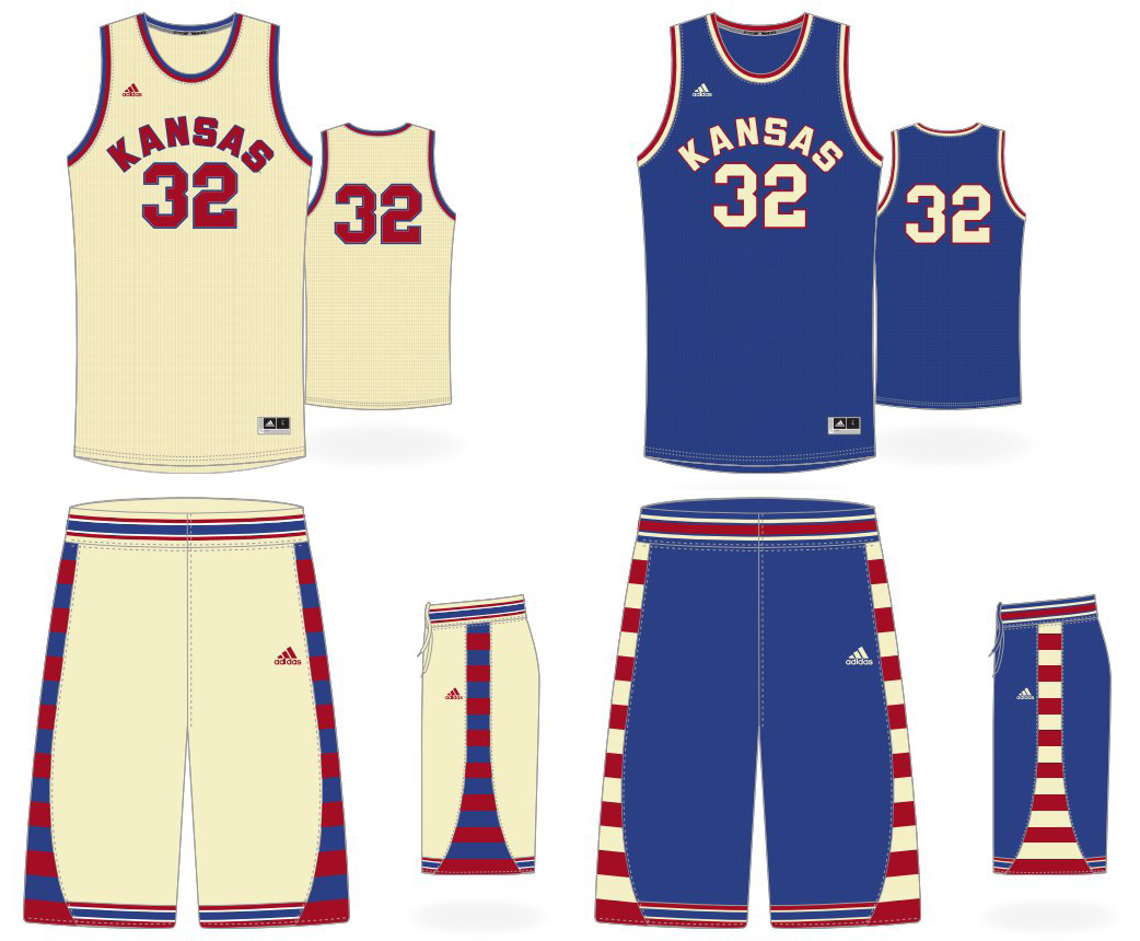 We also loved the Jayhawks  2016 Black History Month throwbacks to the  1950s. The cream uniforms are especially sublime. b6014604b