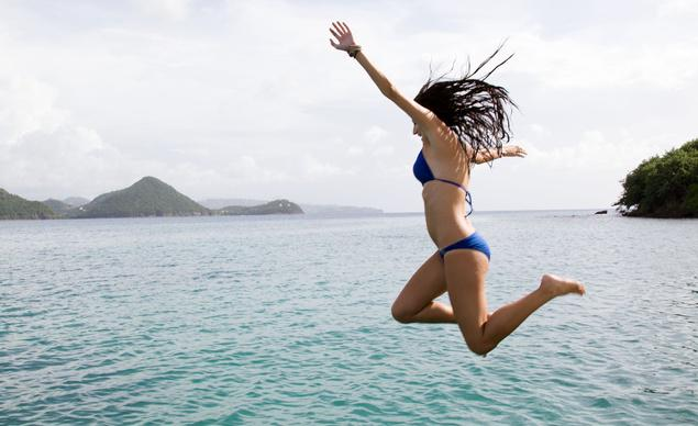 Take the plunge in St. Lucia!