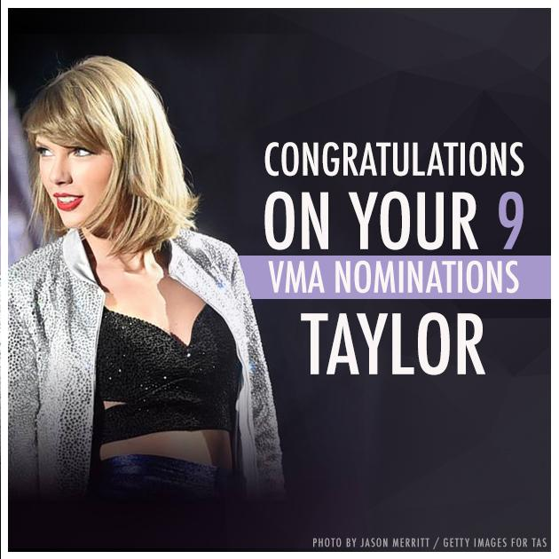 Congratulations @taylorswift13! http://t.co/imi2WFRikp