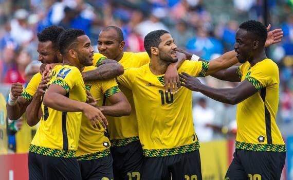 Goal-den Boyz!   Congrats to the Reggae Boyz who beat the USA 2-1 making it to the finals of #GoldCup2015 http://t.co/keIR8mMxJF