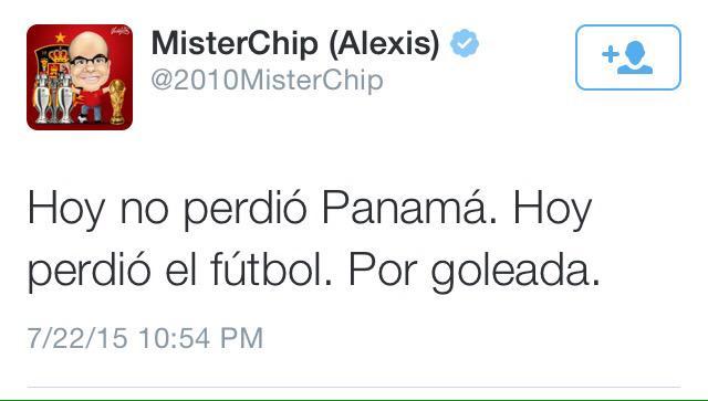 Hoy perdió el fútbol. http://t.co/H9pkVx26Tq