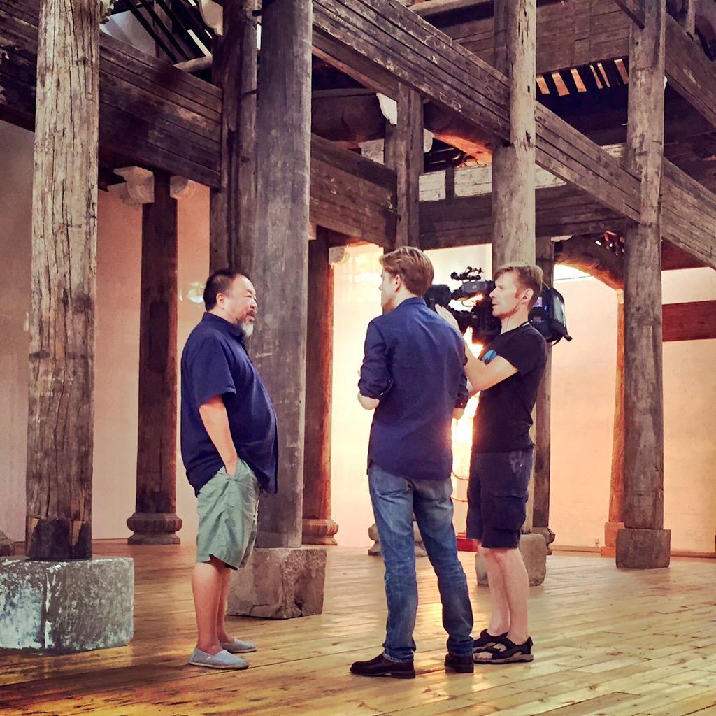 #AiWeiwei speaks to #CNN, stares down dragon a day after #China lifted his intl travel ban by returning passport. http://t.co/CjELKFKWv4