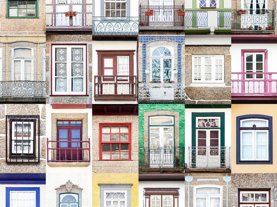 He's from Portugal and he's addicted to taking photos of windows. Is yours in his collection?