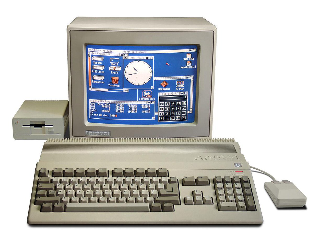 The Amiga is 30 years old today. Happy birthday! http://t.co/79wHUDYIZY http://t.co/M4ue16TbGW