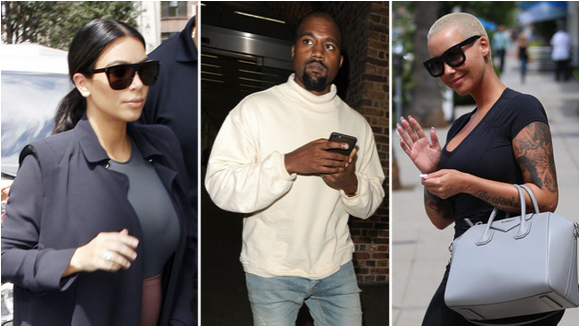 Kim Kardashian 'furious at Kanye West after finding pictures of Amber Rose on his