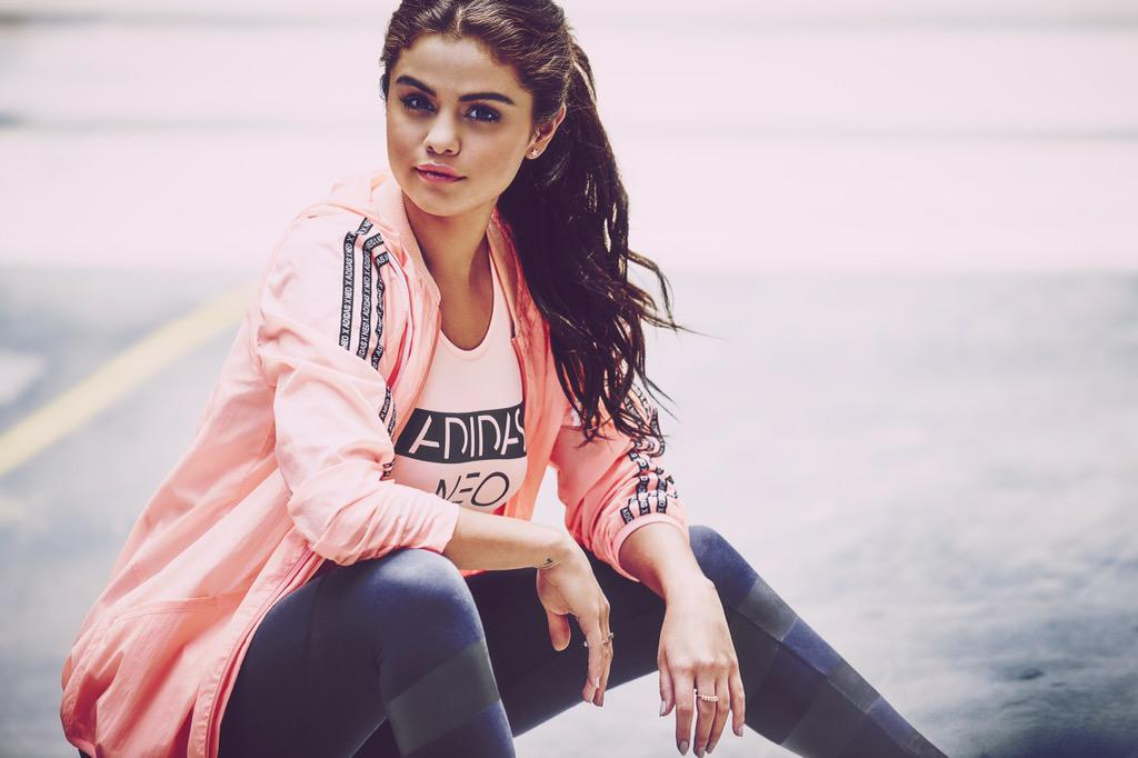 So happy! My Fall #adidasneo collection is finally out! Follow @adidasneolabel to find out where to get it. http://t.co/xhPIbrE6Kh