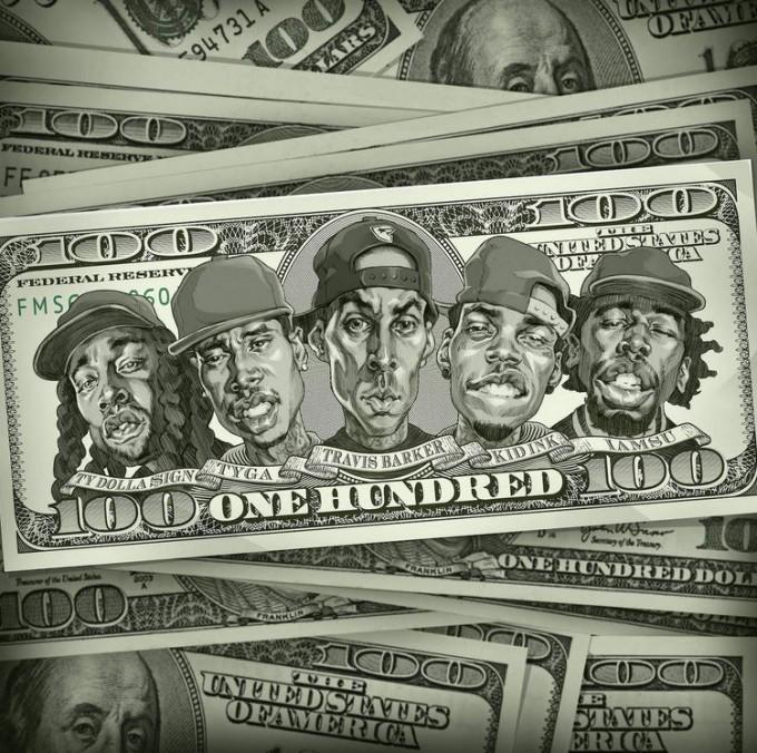 CDQ Added: @travisbarker Ft. @Kid_Ink, @IAMSU, @Tyga, & @tydollasign – 100 - http://t.co/Y6za7G8vyY http://t.co/Mv1Zr1Q1na