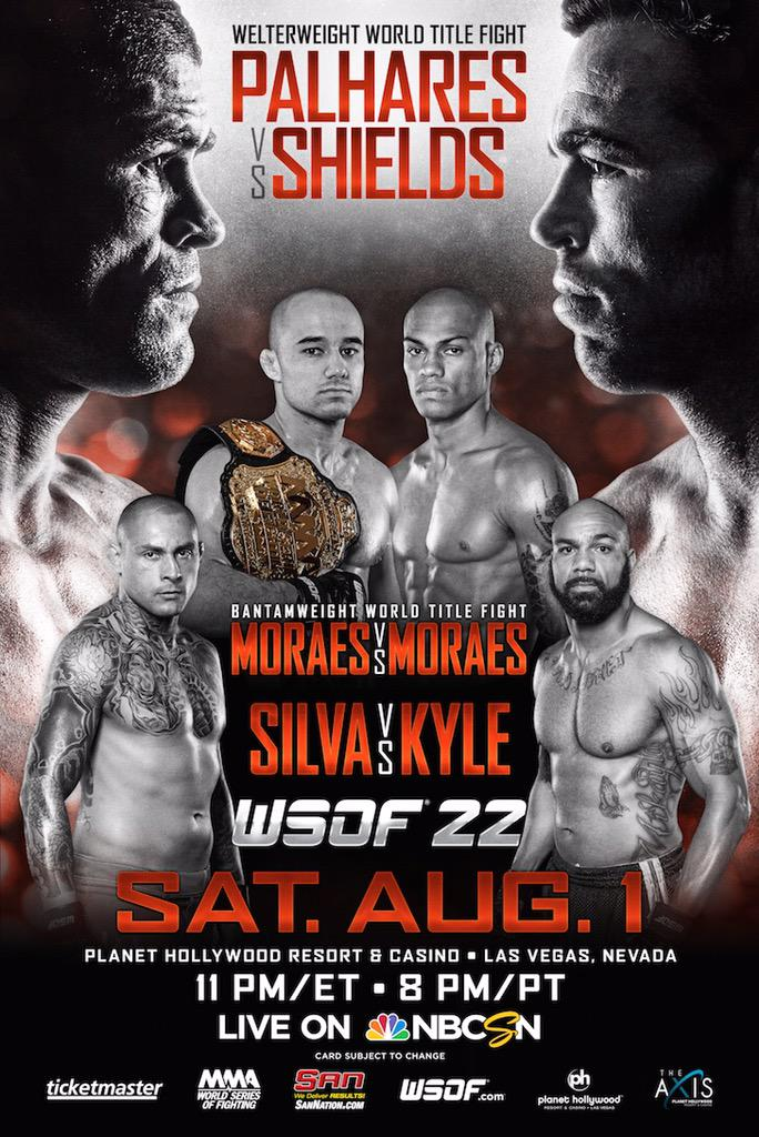 Looking forward to @StitchDuran being part of the @MMAWorldSeries team #WSOF-22 August 1st http://t.co/WRNd890xKE