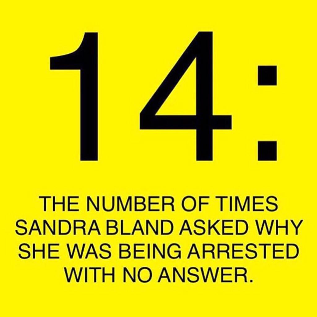 #WhathappenedtoSandraBland Follow @thedreamdefenders http://t.co/4iXNcl26cY