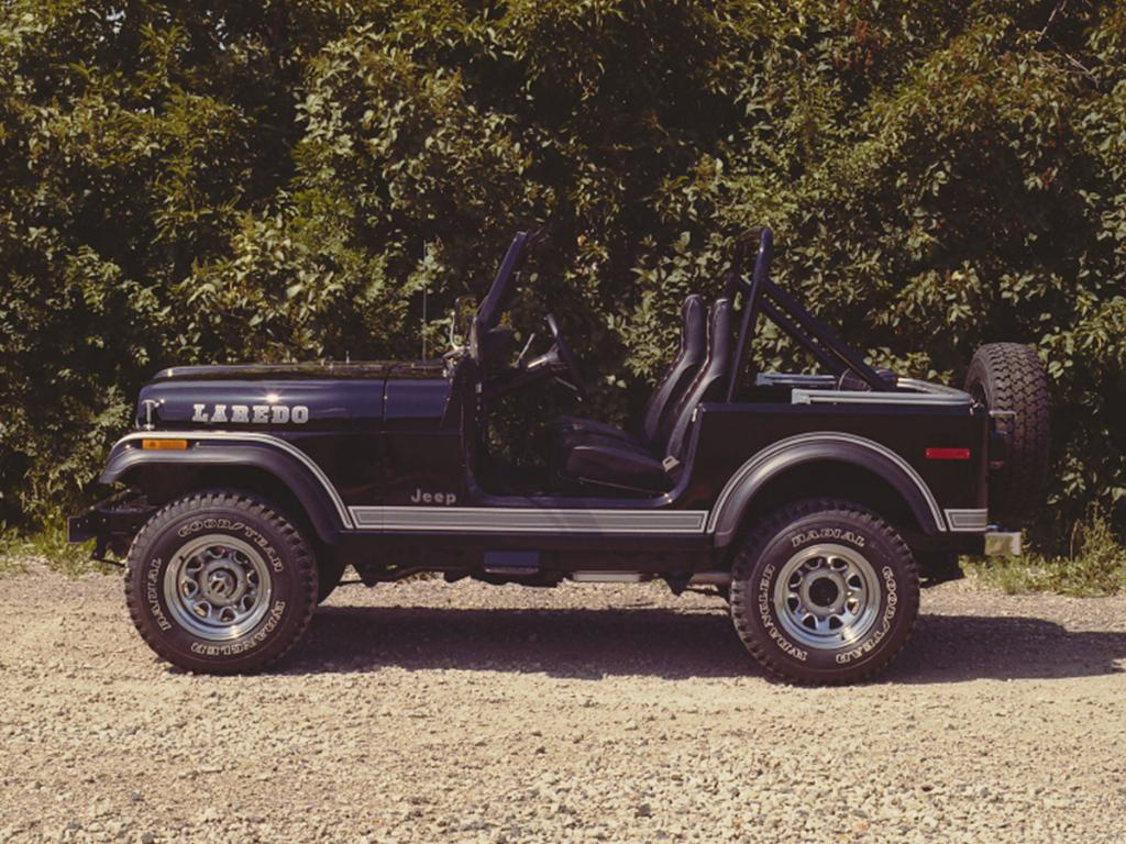 You should be able to ID this one now: it's the 1980 Jeep CJ-7 Laredo. #TBT http://t.co/xHgsWPpRUr