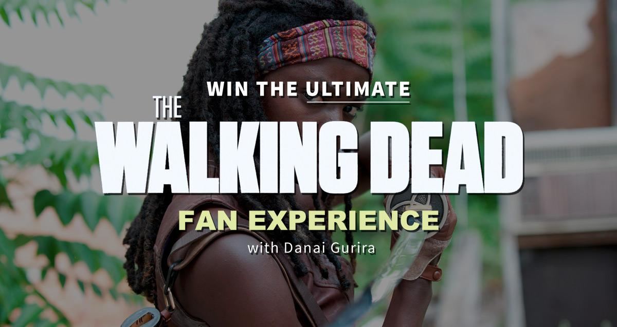 RT @crowdrise: Want to get @WalkingDead_AMC weapons training and meet Michonne aka @DanaiGurira? Enter here http://t.co/eV9R9ZhUy5 http://t…