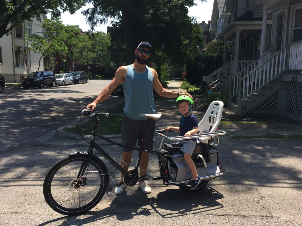 Prime off day. Racked 25 miles with my comrade on the Xtracycle http://t.co/BhyzdnPu21
