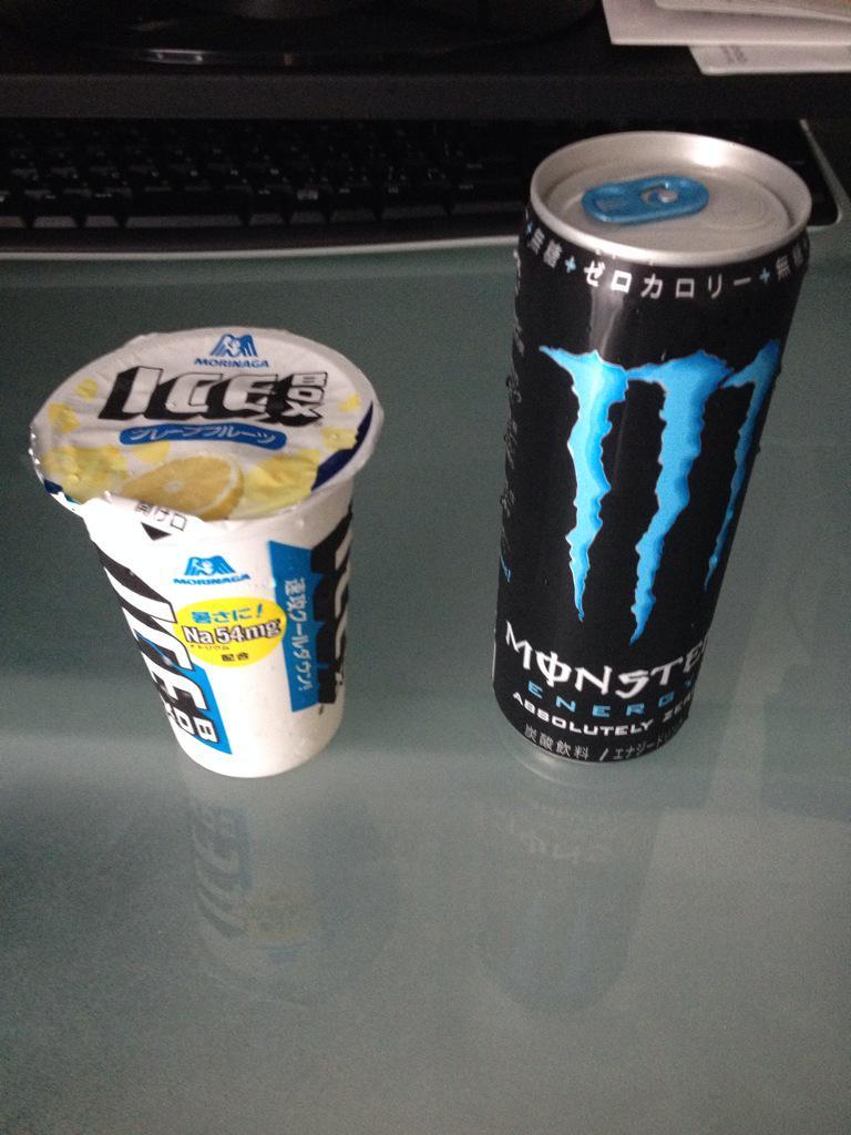 ICE BOXにモンスターエナジーを入れると美味しい http://t.co/z9ex5UvkUa