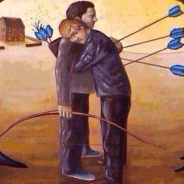 Too Much Trust Sometimes Kills You Scoopnestcom - Painting that kills you