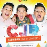 CJR Lebih Baik Live in Concert: 6 September | Di Ballroom Apita Hotel | Beli Tiket di @doubledippscafe http://t.co/pgRRtvFzRu