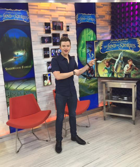 .@chriscolfer is feeding the imaginations of kids everywhere! #TLOS is the #1 children's series on @nytimes list! http://t.co/S2Hte2baB1