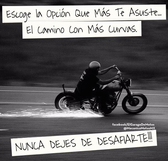 Estas son las opciones que requieren más de ti... Nunca dejes de desafiarte!! #Moto #Biker #Libertad http://t.co/bOfqIsjBVx