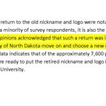 """The """"majority"""" wants to remain nickname-less? False narrative. Straight from the task force report: http://t.co/C93h6Dlese"""