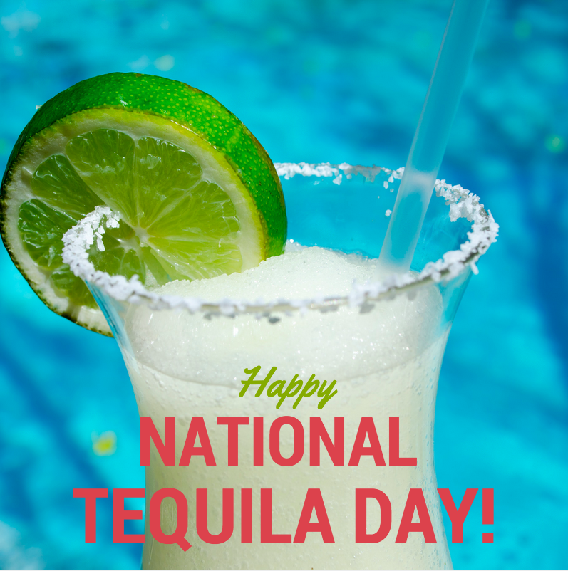 One tequila, two tequila.... You know the rest! Happy #NationalTequilaDay everyone! http://t.co/p3hL02IMbN