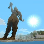 Minecraft Greek Mythology pack out today on PS4, PS3, PS Vita: http://t.co/XTWKAITeeS http://t.co/BrxDqEYf9x