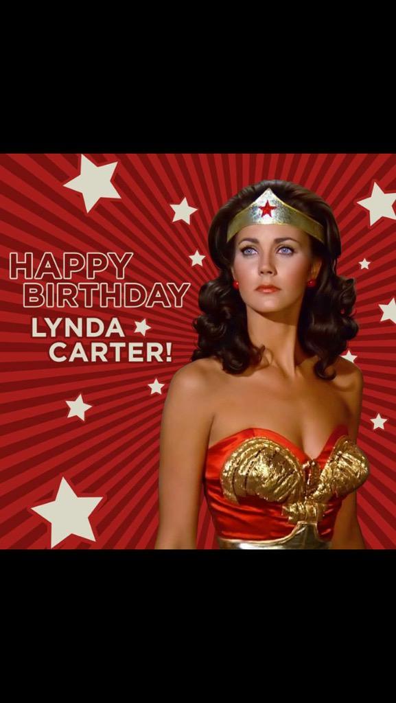Happy birthday to the really wonderful @RealLyndaCarter!
