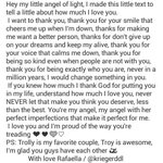 @FifthHarmony @WeLuvAllyB  @AllyBrooke I know its not the best,nor the most beautiful text,but I hope you read❤ http://t.co/8n3SYCnwh6 1330