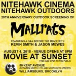 IS BROOKLYN IN THE HOUSE? Watch #Mallrats with me on a rooftop in Brooklyn for FREE - thanks to @nitehawkcinema! http://t.co/VNpNovJ349