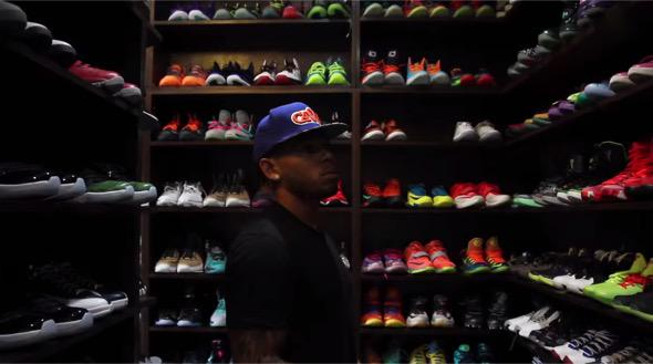 Video Browns Joe Haden Gives A Tour Of His Massive Shoe Closet Watch