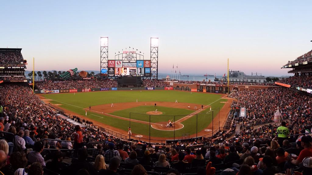 Perfect evening @SFGiants. For me @ATTParkSF is the benchmark for which every stadium aspires http://t.co/aUYEaGzZgS