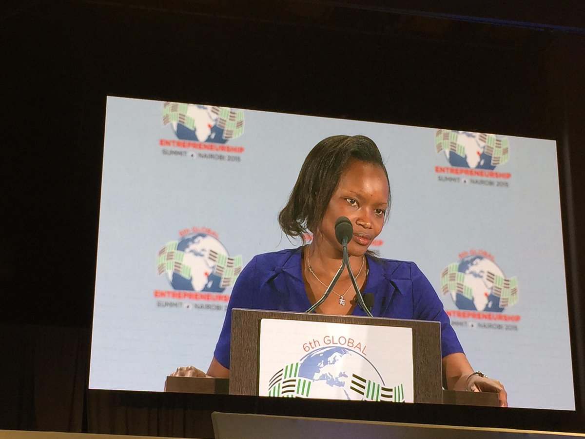 .@hildamoraa  shares the Wezatele story. Belief and confidence in the entrepreneurial journey. Amazing #GES2015Kenya http://t.co/y2rVepdcOc