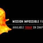RT @MissionFilm: Join the rogue nation on Snapchat! Use the custom #MissionImpossible filter and snap us at: MissionMovie