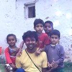 With Joshimath kids, on my way to trekking in Hemkund & #ValleyOfFlowers. Breath taking drive to here from Rishikesh.