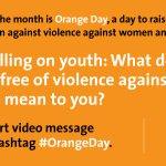 RT @ravikarkara: .@WTA Youth Action End Violence against Women/Girls #OrangeDay @MirzaSania @FlipperKF @UlaRadwanska @serenawilliams http:/…