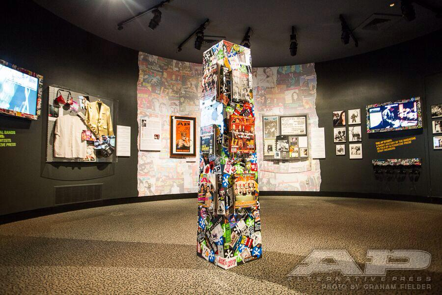 Come out to the @rock_hall this weekend! The #AltPress Magazine exhibit is open now through Dec 2015! #ap30 #rockhall http://t.co/i8qTPZlLnM
