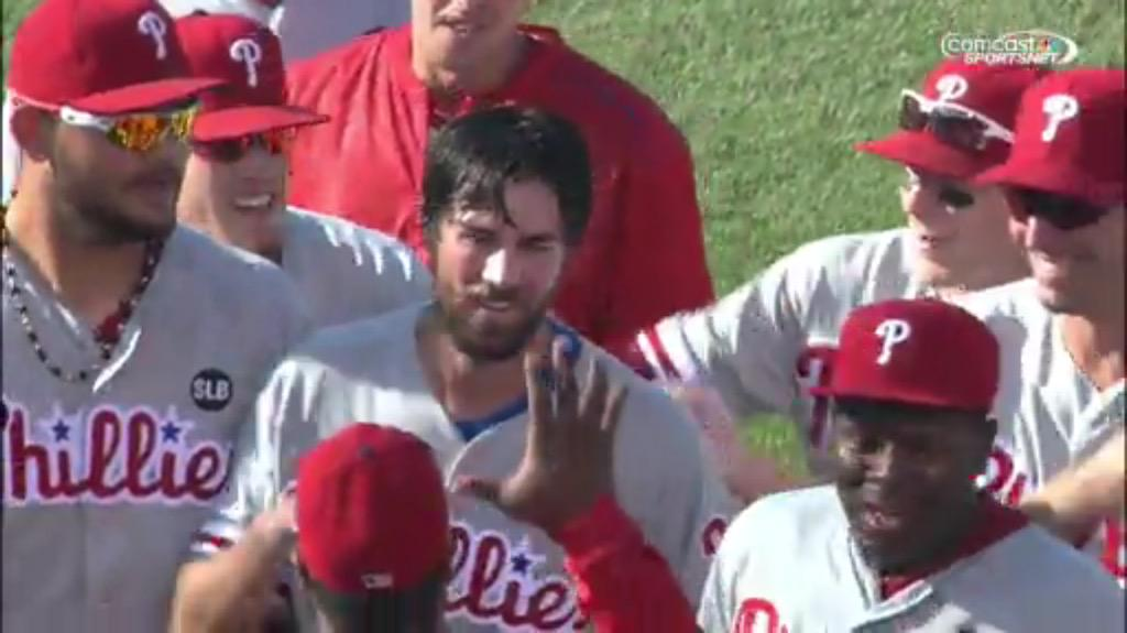Congrats the co-founder Cole Hamels on his first career no-hitter today! #nono #amazing http://t.co/0lOsnn6yWf