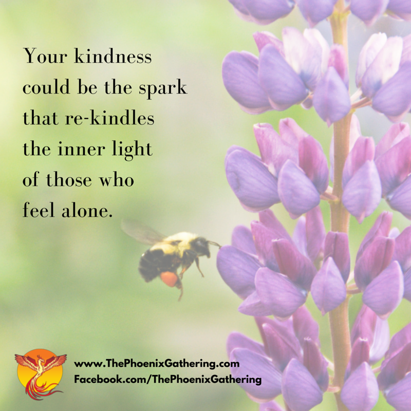 For today ►Share some #kindness, you never know who needs it. @roxanamjones #WUVIP http://t.co/ClXVg0tgv1 RT @ThePhnxGather