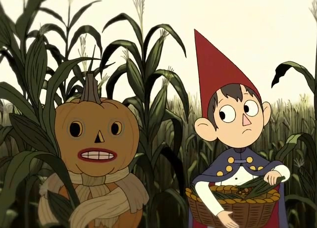 "Me, lately. ""Excuse me, do you have a minute to talk about Over the Garden Wall?"" http://t.co/R6qhKeY2EV"
