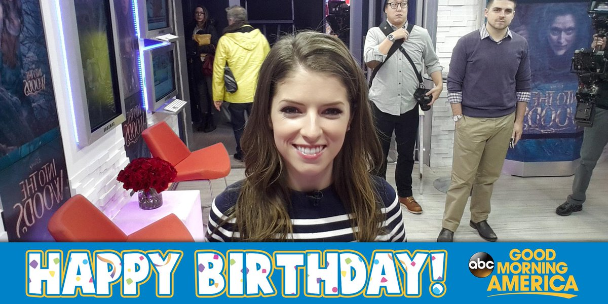 who has a birthday today Hey look who has a birthday today @annakendrick47! happy  who has a birthday today