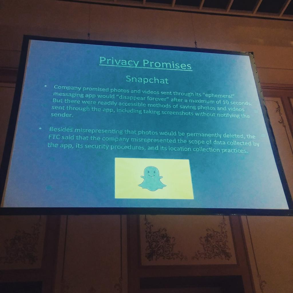 Snapchat's Big Lie #defcon http://t.co/w5JURmNfMg