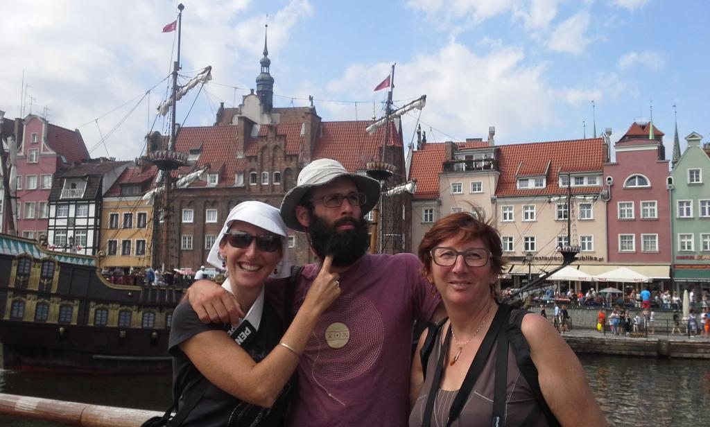 Retrouvailles et tourisme en famille à Danzig !