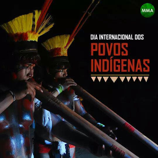 Dia Internacional dos povos Indígenas http://t.co/O76plPMaTY