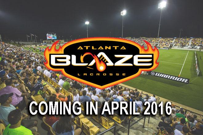 MLL Fan  Help us welcome to the league the Atlanta Blaze! http://t.co/0XBq4vzTfg