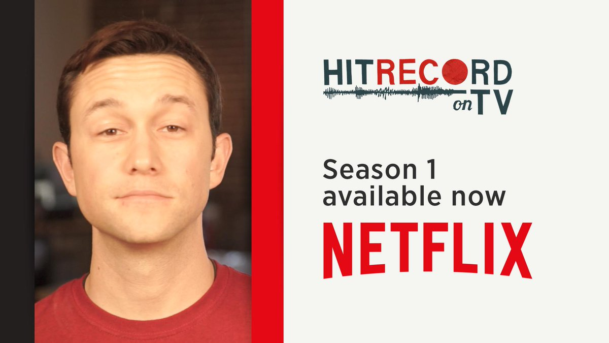 I have some pretty cool news -  Season One of #HITRECORDonTV is streaming NOW on @netflix! http://t.co/sXWxBH1vUX http://t.co/mTU8THeSIX