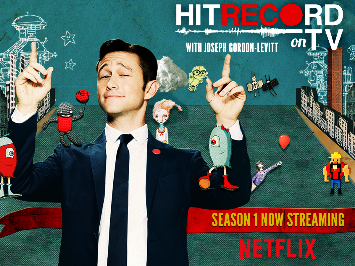 RT @pivot: Woohoo! #HITRECORDonTV Season 1 is now on @Netflix! ???? Watch now➵ http://t.co/yQHIY9wngW http://t.co/128NPWmhEc
