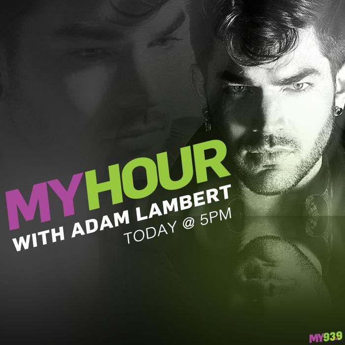 That was AWESOME! Thanks @adamlambert for taking over % thank YOU for listening! We'll keep playing #ghosttown A LOT! http://t.co/suTSJ37gvP