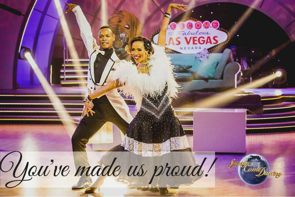 Well done #TeamLJ! You've made us extremely proud - just like we knew you would, @LeighAnne_Will! #SABC3Strictly http://t.co/EQORyCp8tm