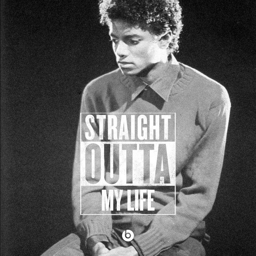 For the real #MichaelJackson fans out there. #StraightOutta http://t.co/G38mIZq1sE
