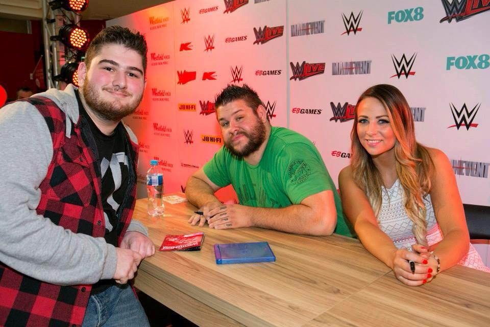 Thank you FightOwensFight & @EmmaWWE for yesterday! You guys were awesome. http://t.co/wVpaqjJcfi