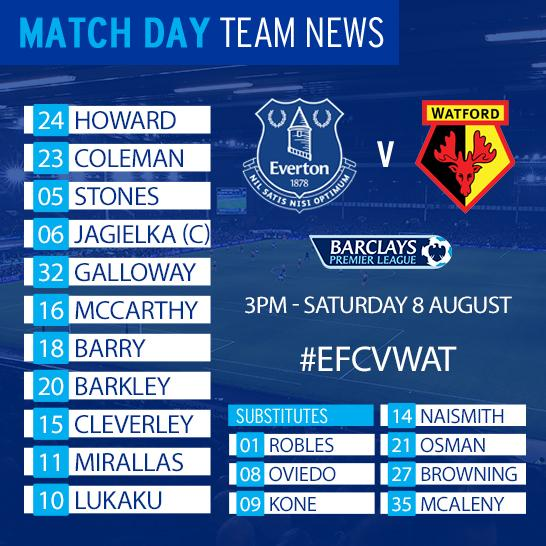 everton team sheet today