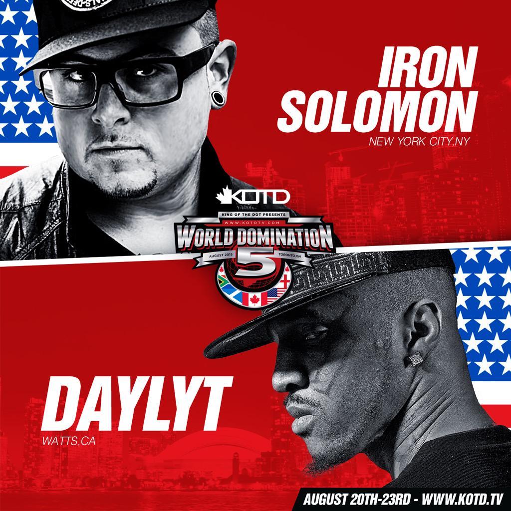 Watch @MRDIZASTER break down @DAYLYT2k v @IronSolomon | https://t.co/7KF30ZNJNa http://t.co/rQGZljVEXj